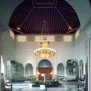Lampadario speciale - villa in Arabia Saudita