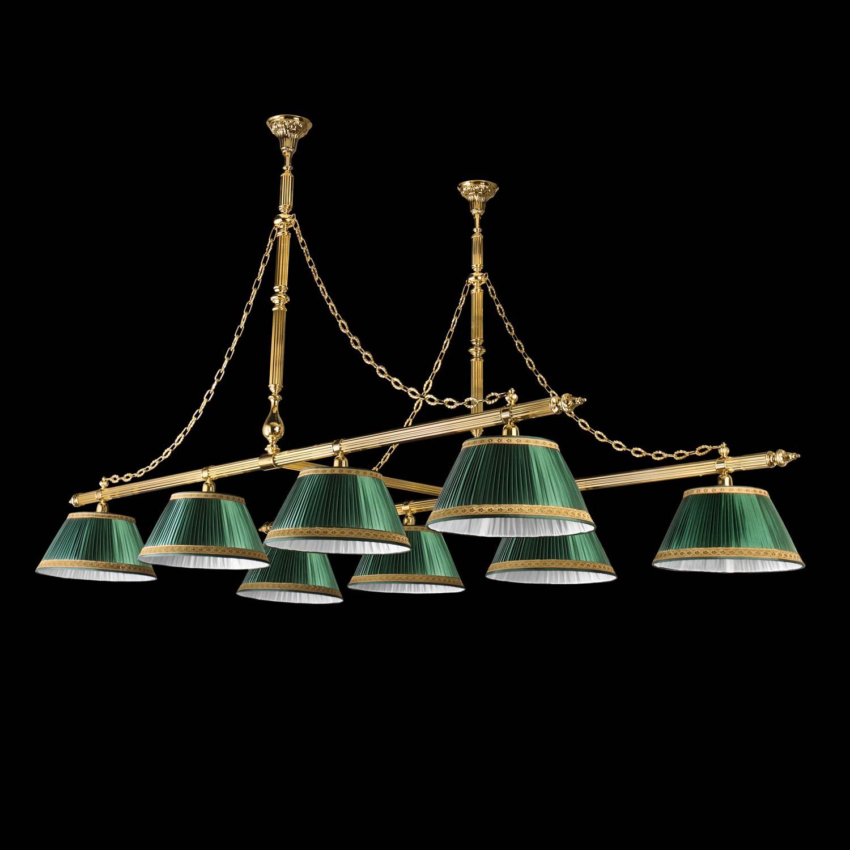 Lampadari - 22632/8 - h. cm 140 - l. cm 250 - pr. cm 120