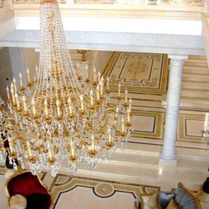 Lampadario - 22452/48 villa privata Russia