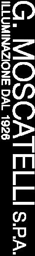 Logo G. Moscatelli S.p.a. - Illuminazione dal 1926