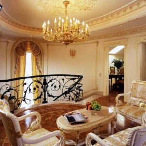 Chandeliers - FS22608/20+10 wall lamp 41559/(3) private residence Russia
