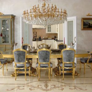 Chandelier 22270/45 - Wall Lamp 41512/(2) - private villa in Russia