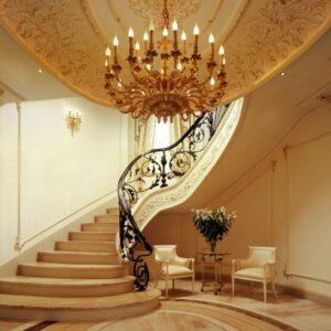 Chandelier FS22608/20+10 - Wall Lamps 41559/(3) - private villa in Russia