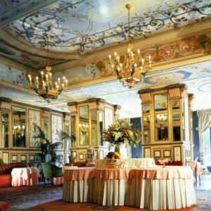 Chandelier 22494/15 - Wall Lamps 4632/(4) Hotel Principe di Savoia Milano